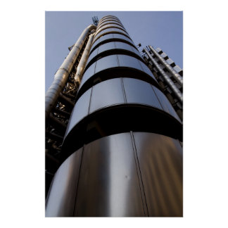 Lloyds of London building Poster