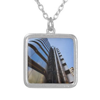 Lloyd's of London building Silver Plated Necklace