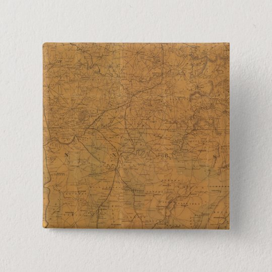 Lloyd's official map of the state of Tennessee Button
