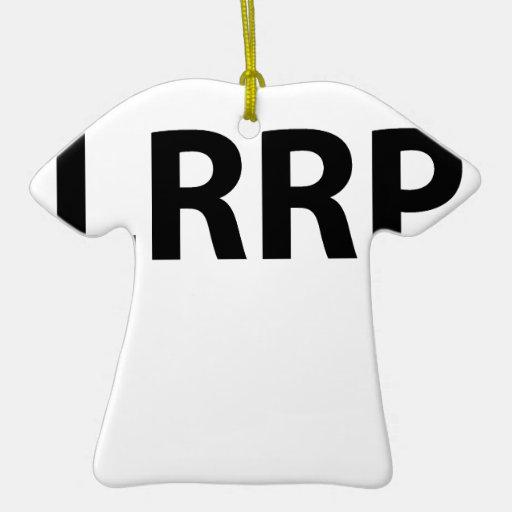 LLRP.png Adorno Navideño De Cerámica En Forma De Playera