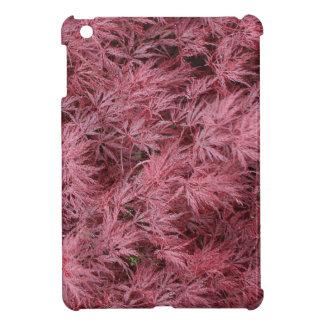 Llueva caso del iPad del árbol de arce japonés del