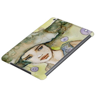 llustration of a beautiful, delicate  girl iPad air case