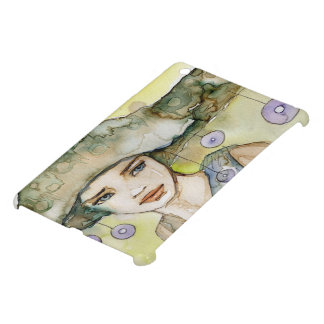 llustration of a beautiful, delicate  girl iPad mini cases