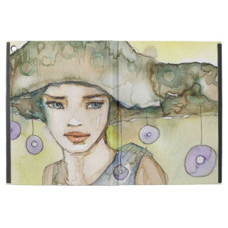 """llustration of a beautiful, delicate  girl iPad pro 12.9"""" case"""