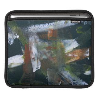 Lluvia abstracta de noviembre de la pintura del 50 funda para iPads
