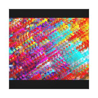 Lluvia ácida lienzo envuelto para galerias