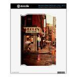 Lluvia - Chinatown - New York City Calcomanía Para El NOOK