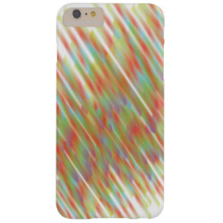 Lluvia de Abstrstract Funda Para iPhone 6 Plus Barely There