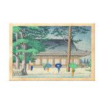 Lluvia de Asano Takeji en el arte del templo de Sa Lona Estirada Galerias