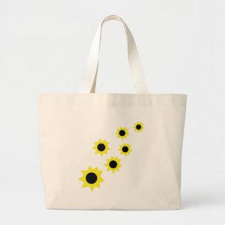 lluvia de la flor del sol bolsa