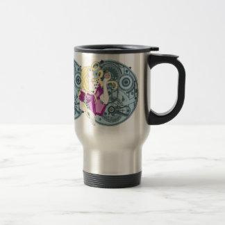 Lluvia de memorias taza de café