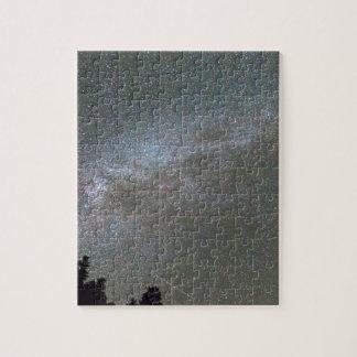Lluvia de meteoritos de Perseid de la vía láctea Puzzles