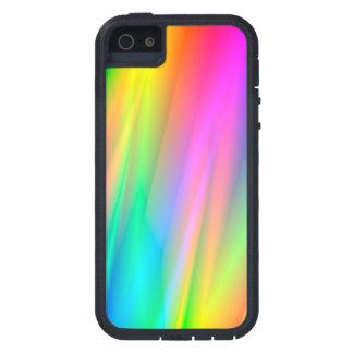 Lluvia del arco iris iPhone 5 funda