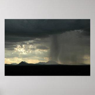 Lluvia del desierto impresiones