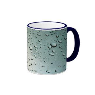 Lluvia en mi ventana taza de dos colores