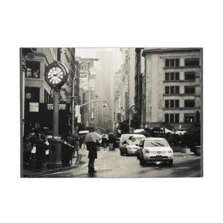 Lluvia en New York City - estilo del vintage iPad Mini Cárcasa