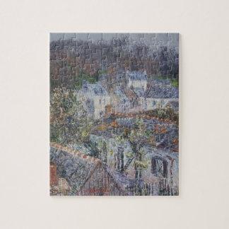 Lluvia en Pont-Aven de Gustavo Loiseau Puzzle