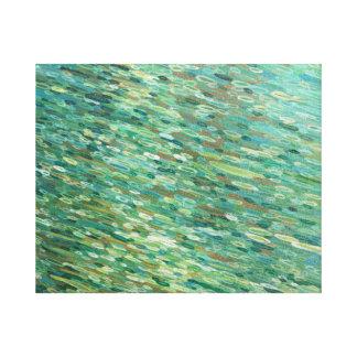 Lluvia en un arte Juul de la lona del paisaje del Impresiones De Lienzo