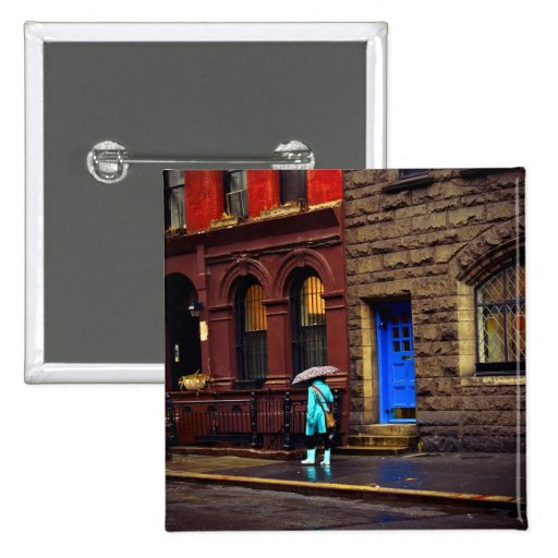 Lluvia - Greenwich Village - New York City Pins
