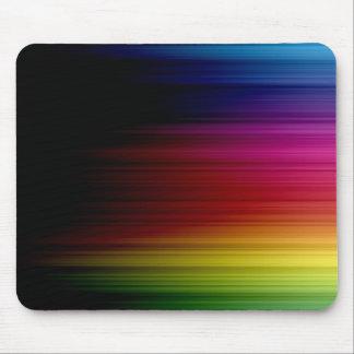Lluvia Mousepad del arco iris