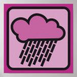lluvia rosada 02 poster