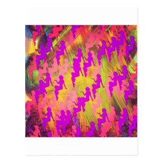 Lluvia salvaje tarjetas postales