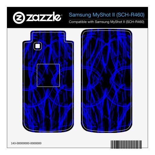 Lluvia Samsung MyShot II Calcomanías