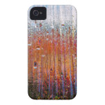 lluvia sobre el vidrio colorido Case-Mate iPhone 4 protector