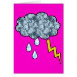 lluvia tarjeta