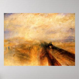 Lluvia, vapor, y velocidad: El ferrocarril de Grea Impresiones