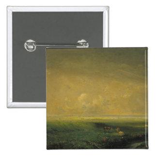 Lluvia y Sun, c.1873 Pin Cuadrada 5 Cm