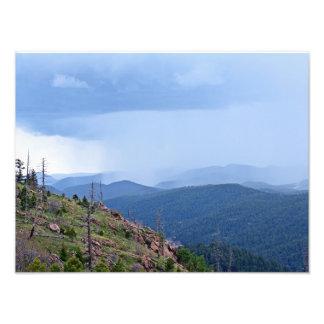 Lluvias frescas en las montañas fotografía