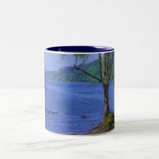 Llyn Padarn 2 Two-Tone Coffee Mug