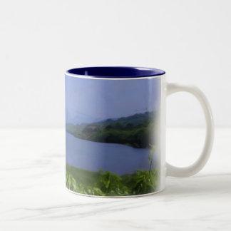 Llyn Padarn 3 Two-Tone Coffee Mug
