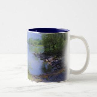 Llyn Padarn 4 Two-Tone Coffee Mug