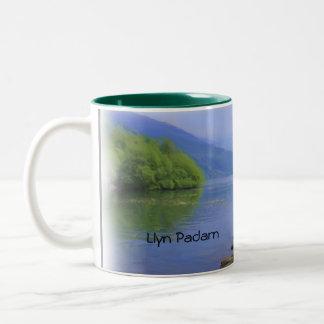 Llyn Padarn Two-Tone Coffee Mug