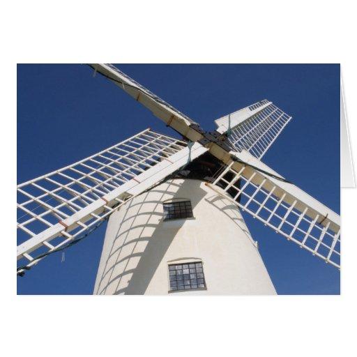 Llynnon Mill, Llandeusant, Anglesey, Wales (RF) Greeting Card