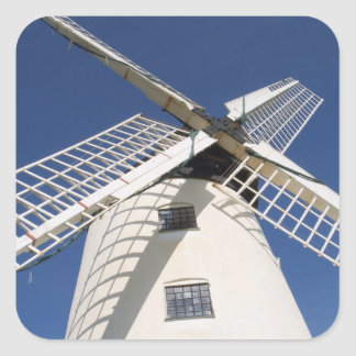 Llynnon Mill, Llandeusant, Anglesey, Wales (RF) Square Sticker