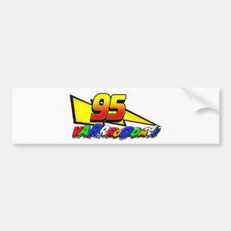 LM95boltVroom Bumper Sticker