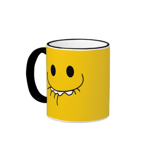 LMAO laughing smiley face Coffee Mugs