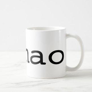 #lmao (twitter hashtag) coffee mug