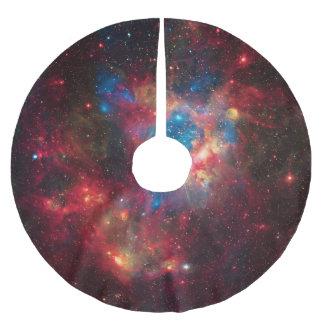 LMC Star Superbubble - astronomy image Brushed Polyester Tree Skirt