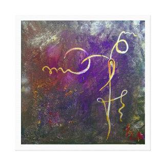 LME symbol strength 4.15 Canvas Print