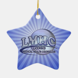 LMHC LICENSED MEDICAL HEALTH COUNSELOR CERAMIC ORNAMENT
