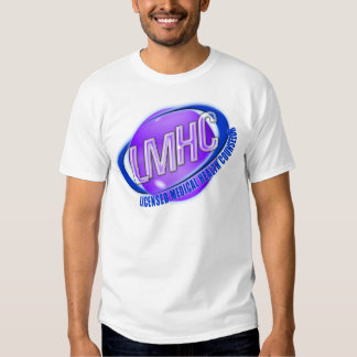 LMHC SWOOSH LICENSED MEDICAL HEALTH COUNSELOR SHIRT