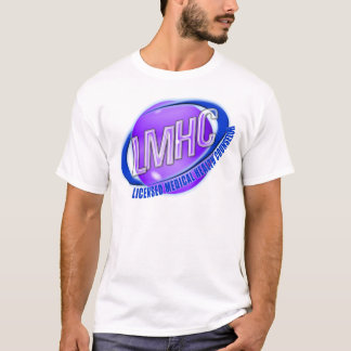 LMHC SWOOSH LICENSED MEDICAL HEALTH COUNSELOR T-Shirt