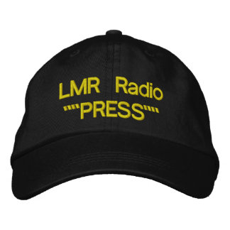LMR Press Hat Embroidered Hats