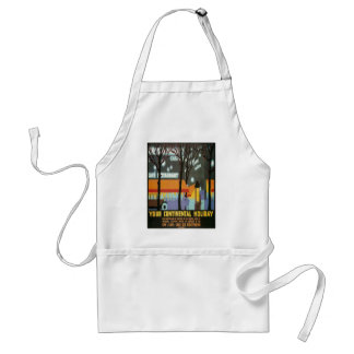 LMS Continental Holiday Poster Adult Apron