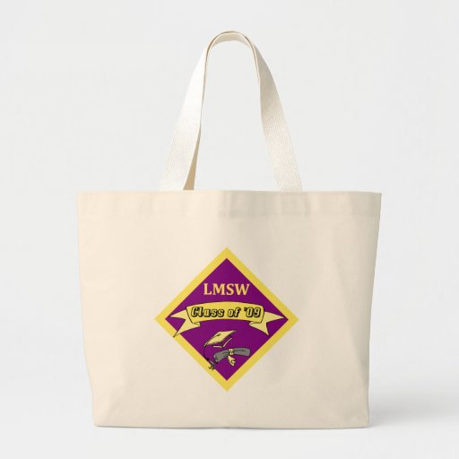 LMSW Social Worker T-shirts and Gifts Canvas Bags