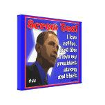 """Lmtd. Edición: El """"té"""" Obama del tornillo envolvió Lona Envuelta Para Galerias"""